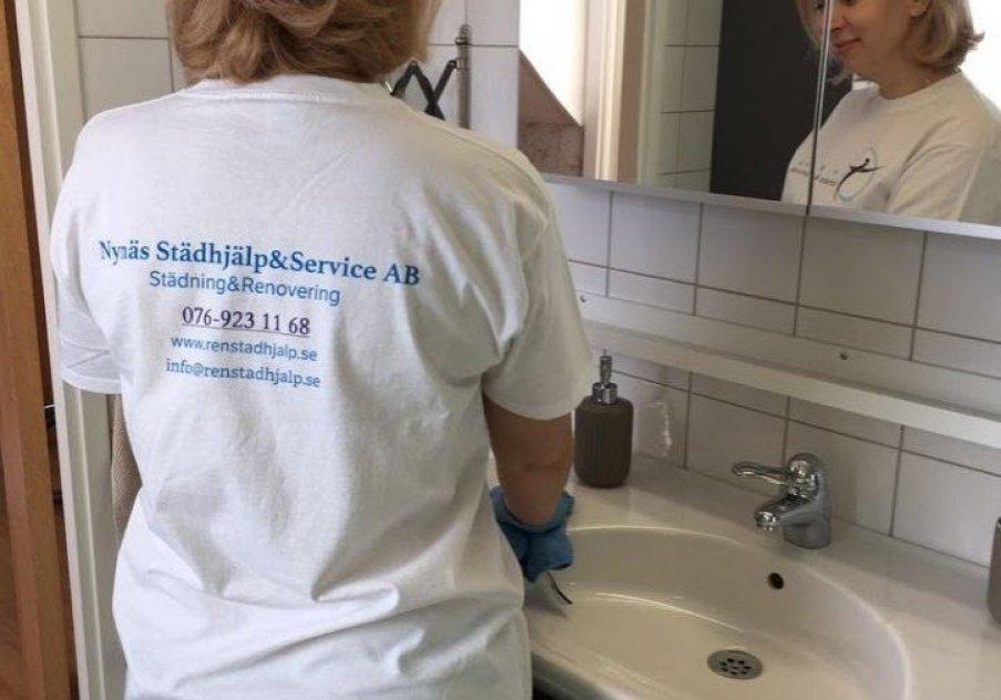 """Помощь в уборке - профессиональная клининговая компания """"Renstädhjälp"""""""