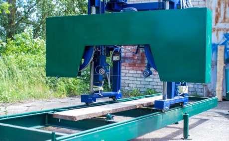 Пилорама передвижная (woodworking equipment)
