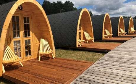 Предлагаем готовые модульные строения для отдыха на свежем воздухе - Кемпинг дом и Кемпинг баня.